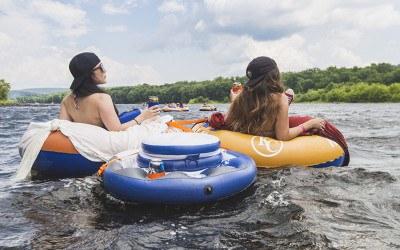 river tubing excursion