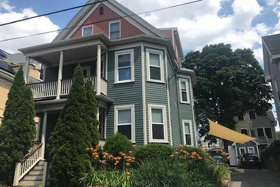 somerville apartment with assigned parking