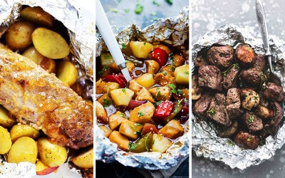 summer foil packet recipes