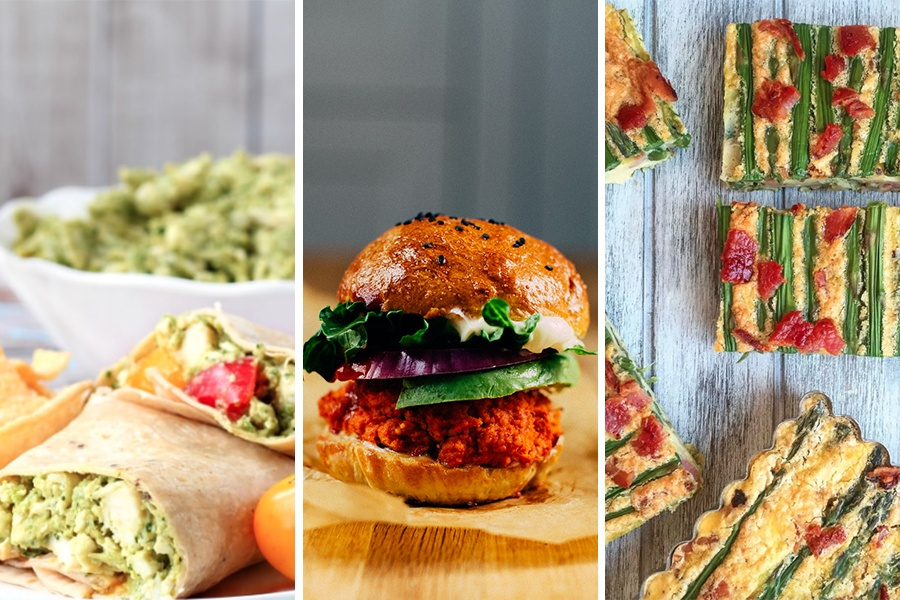 three ingredient lunches