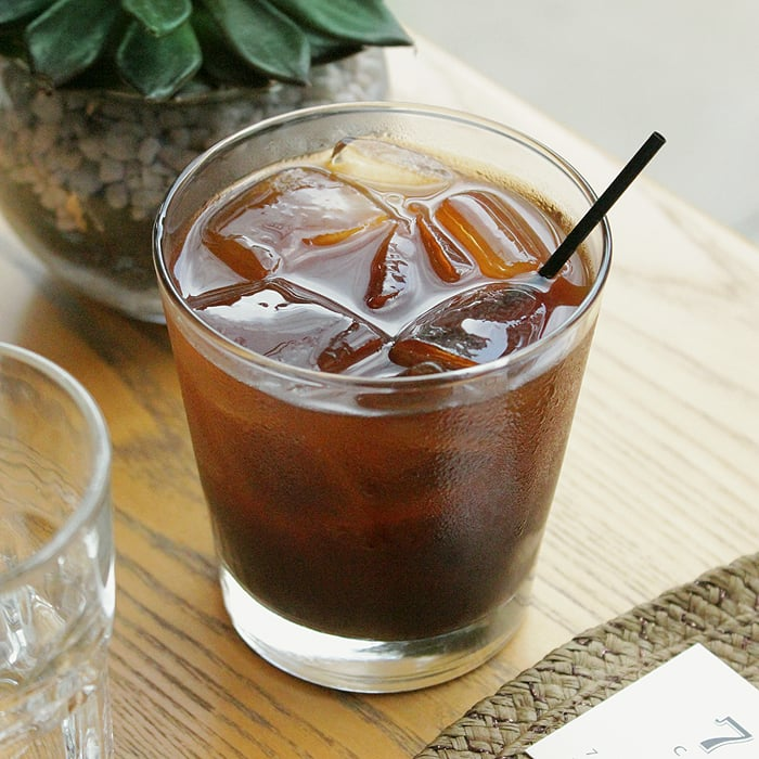 Cold brew at 7 Pond Coffee Bar