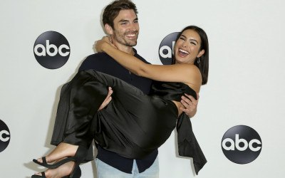 red Haibon Ashley Iaconetti weddin