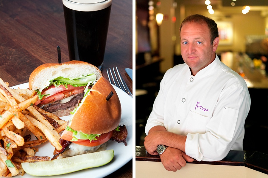The Blue Ox burger and new owner Anthony Caturano