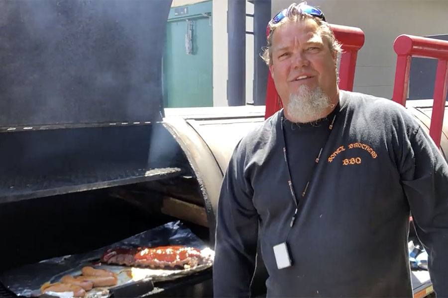 Todd Noon of Bonez Brothers BBQ