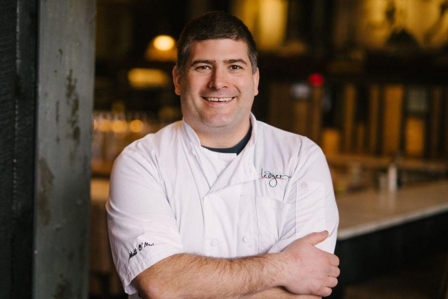 Chef Matt O'Neil of Ledger