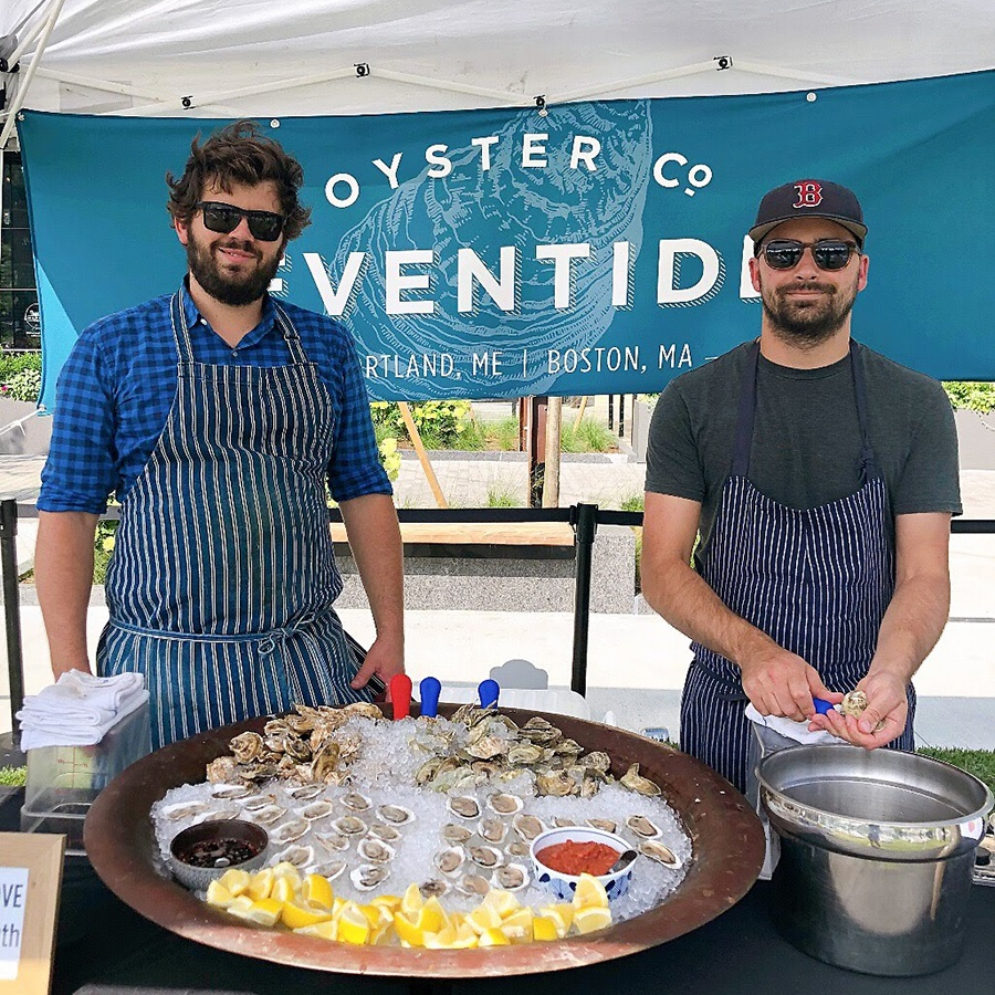 Andrew Taylor and Ryan Mallinson of Eventide Fenway