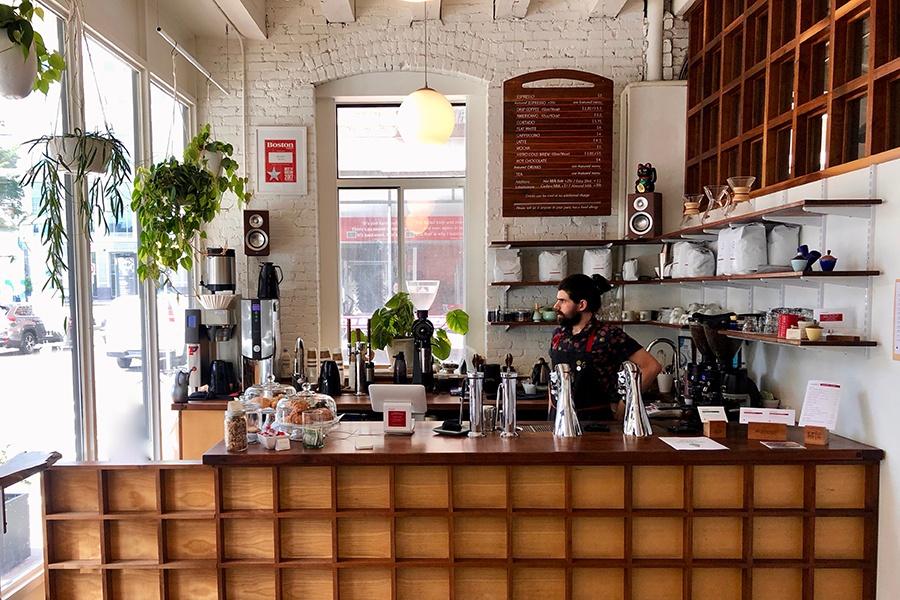 Gracenote Coffee bar boston