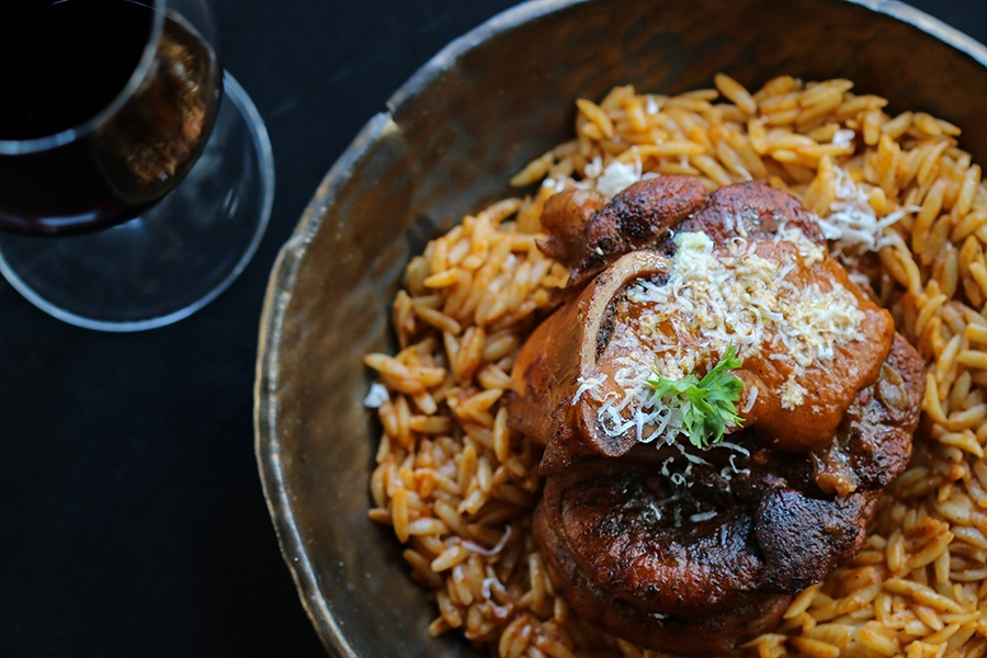 Veal osso buco at Krasi