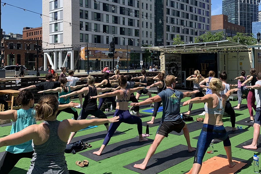 fitness events in Boston