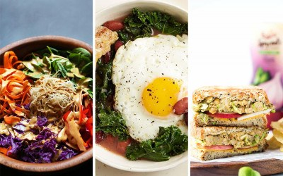 high-protein meatless recipes