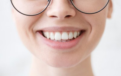 smile shows digital smile design