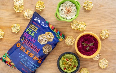 corn pea quinoa chips