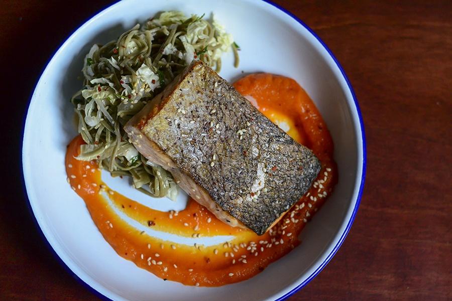 Deep Ellum salmon