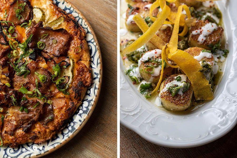 Mariel food: Lechon pizza, and fufu gnocchi