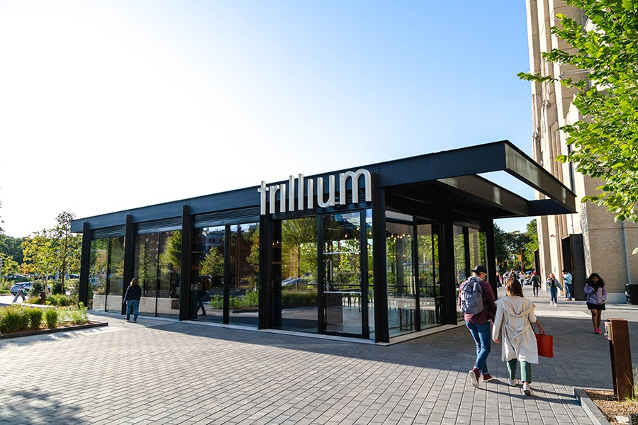 Trillium Fenway is a year-round, standalone taproom and brewery at 401 Park
