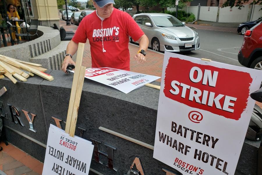 battery wharf strike