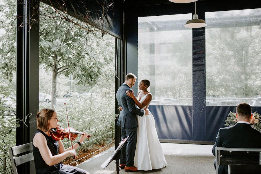 branch line wedding
