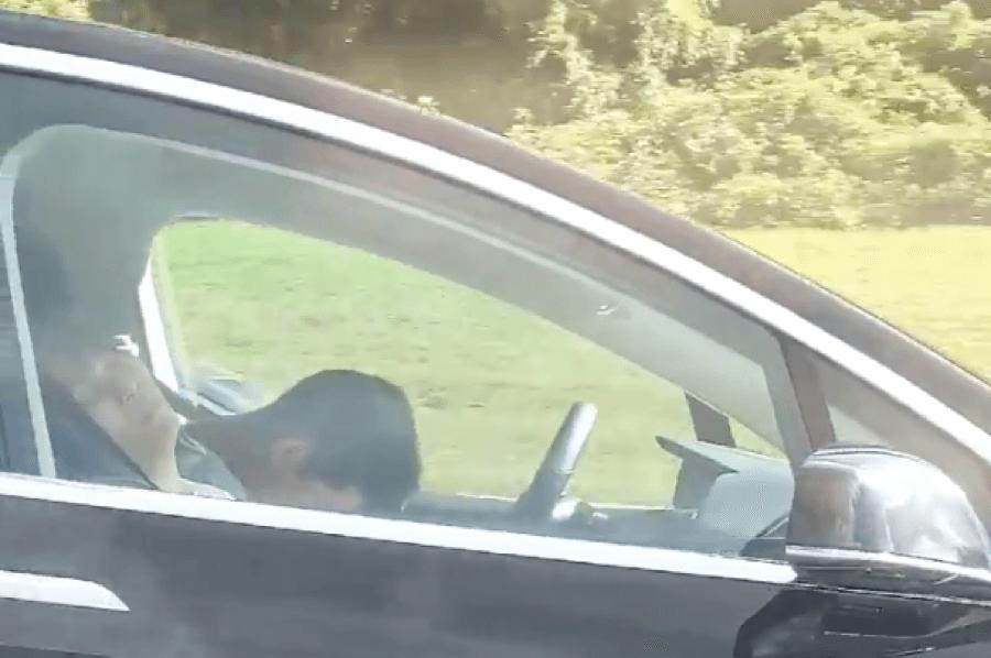 asleep at the wheel on mass pike