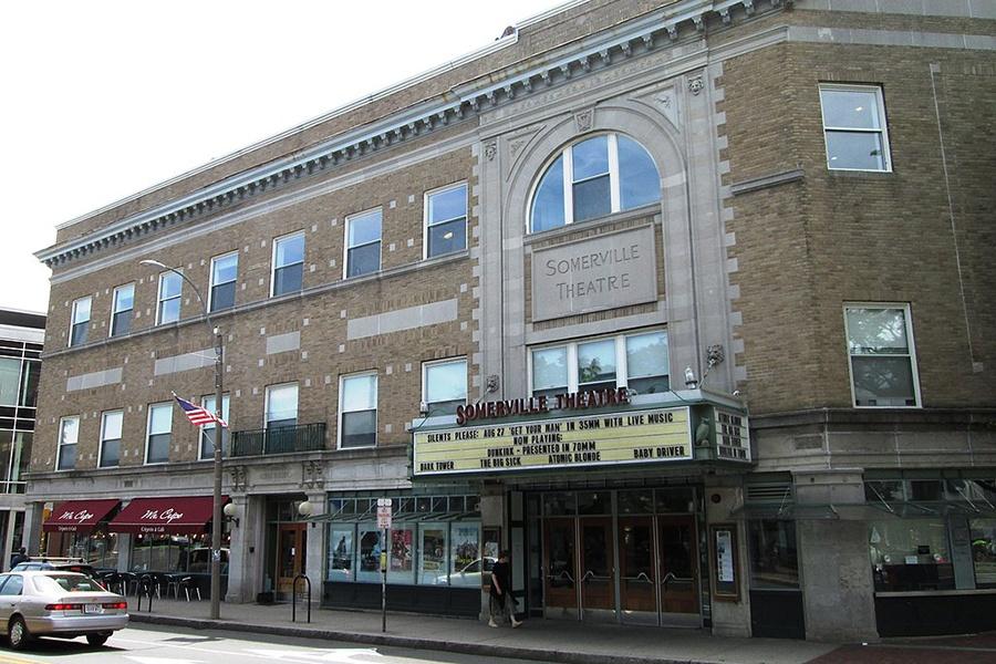 Somerville Theatre in Davis Square