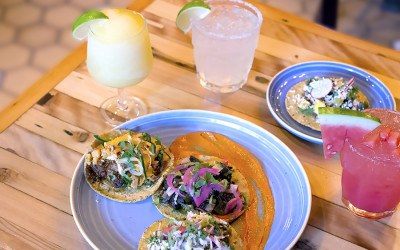 Cosmica tacos and drinks