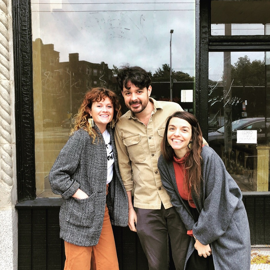 (L to R) Rebel Rebel Wine Bar owner and sommelier Lauren Friel, Field & Vine chef-owner Andrew Brady and partner Sara Markey are opening Dear Annie in Cambridge