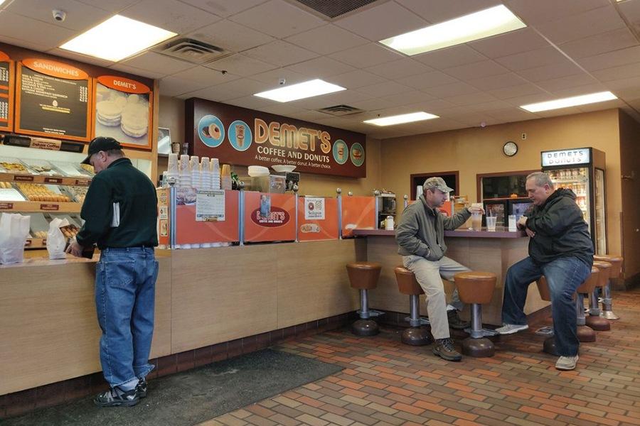 Demet's Donuts photo by Kurt K./Yelp