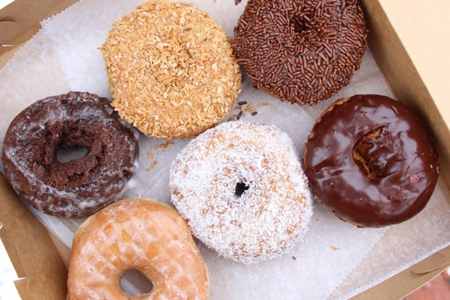 Donuts with a Difference via Yelp
