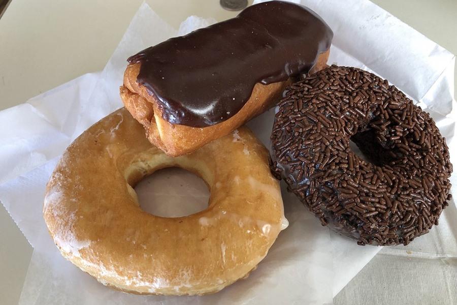 Gail Ann Coffee Shop doughnuts Yelp