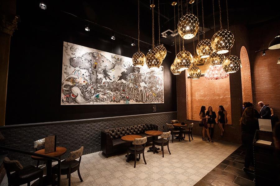Guy Fieri's Tequila Cocina lounge