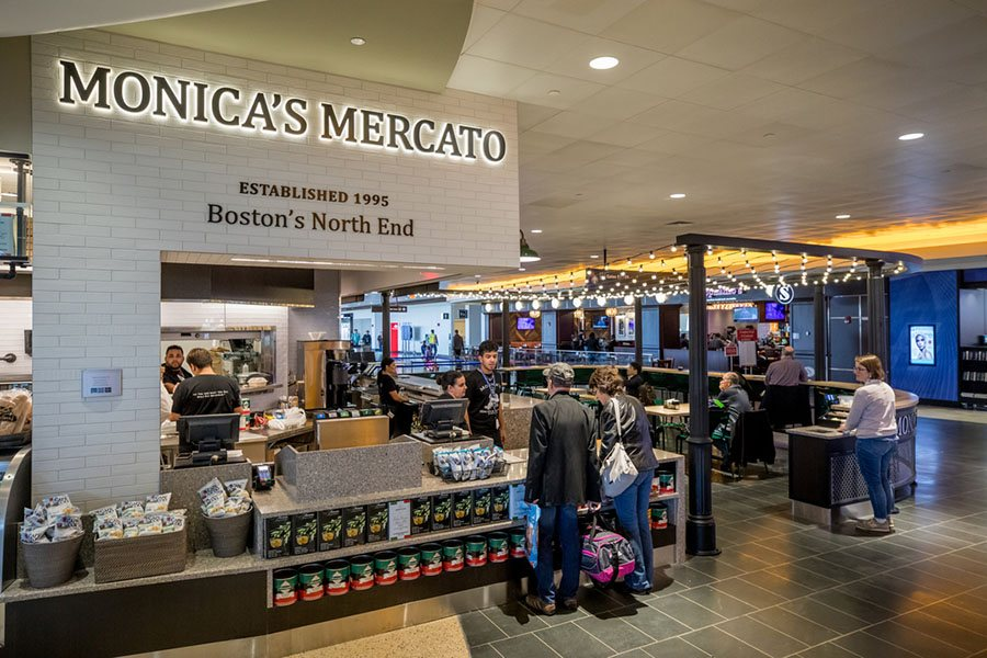 MarketPlace Logan -Monica's Mercato at Logan Airport