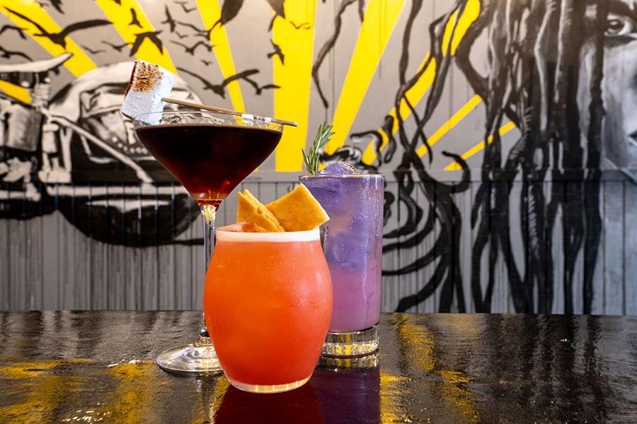 Drinks at Pollo Club