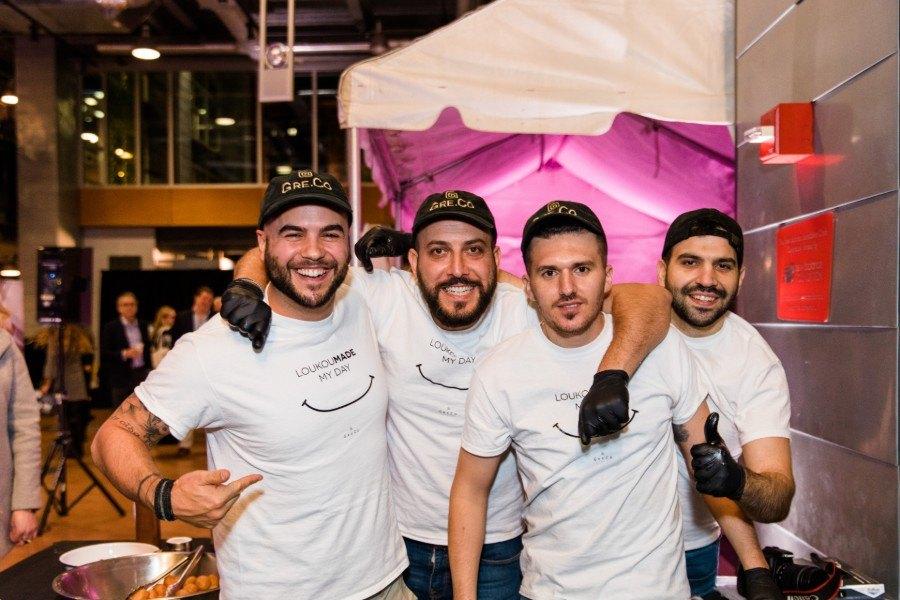 The Greco crew is ready to serve at Boston magazine's Taste 2018