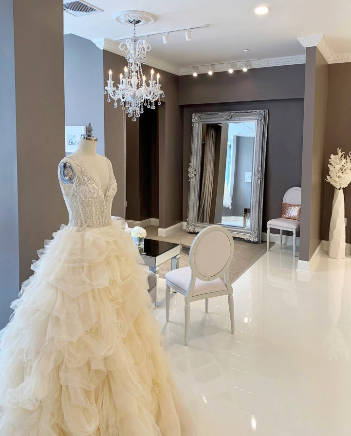 Make Your Own Wedding Dress: The Dreamy New Boston Boutique Where You Can Custom Design