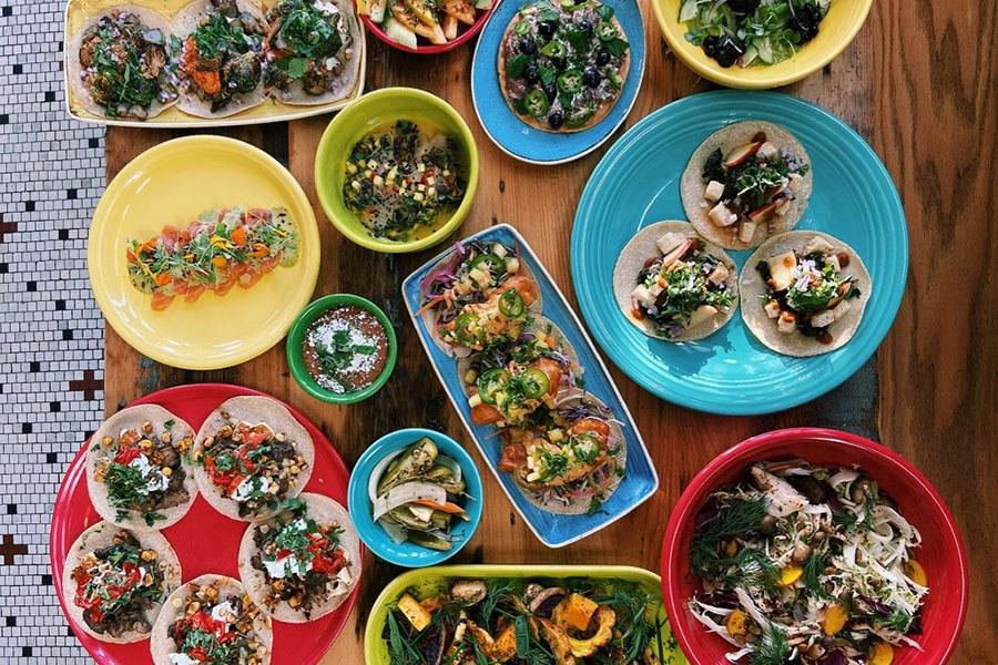 Chef Carolina Curtin's new menu at Yellow Door Taqueria goes beyond tacos.