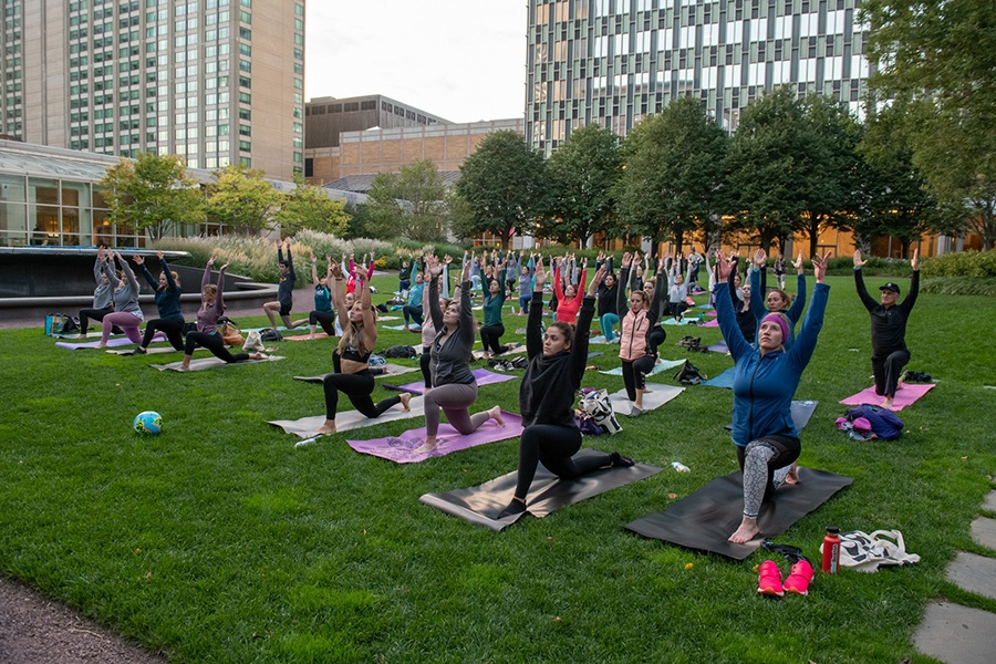 Be Well Boston yoga