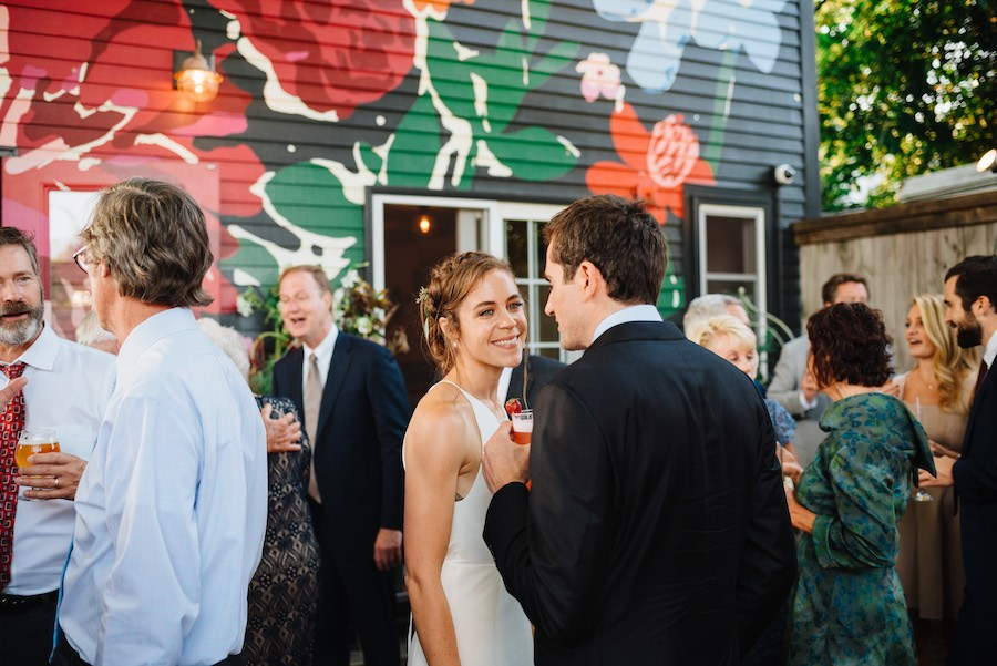 You Ll Crave A Restaurant Wedding After Seeing This Portland Celebration