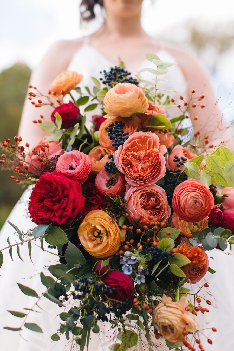 gedney farm fall wedding