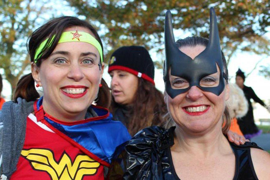 Halloween themed races