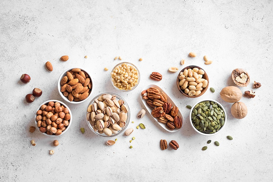 healthiest types of nuts