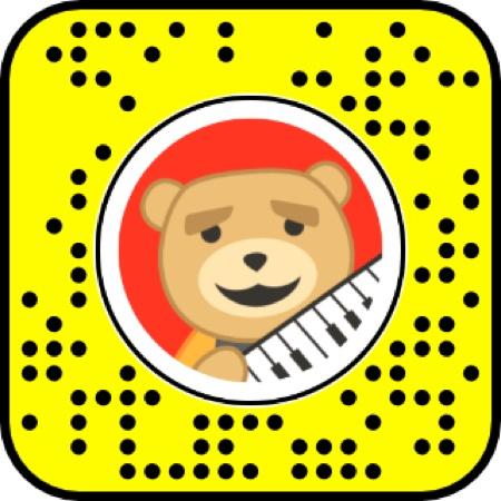 snapchat keytar bear