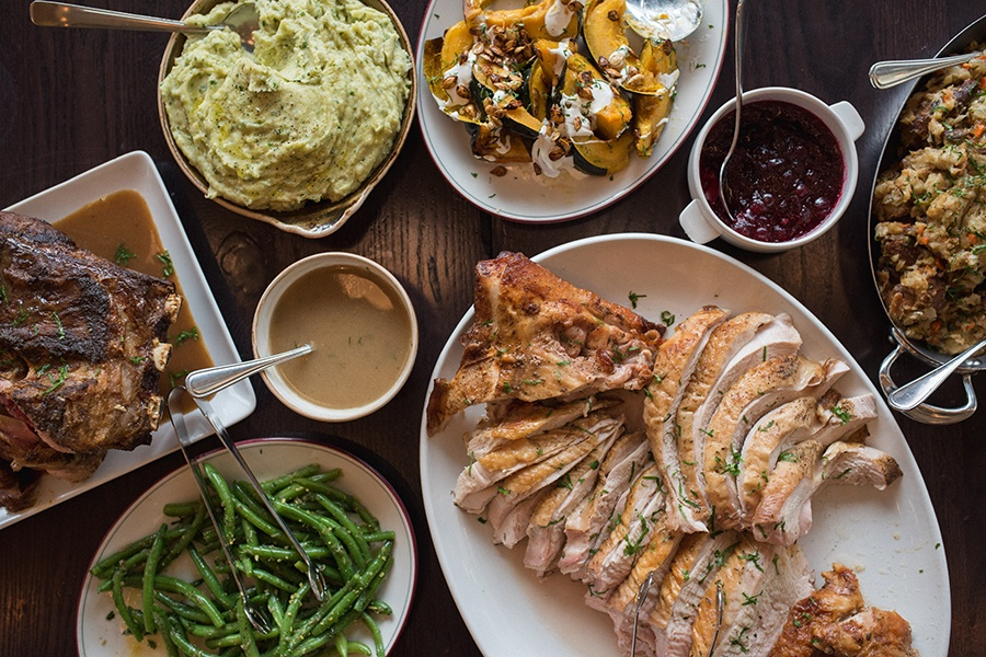 With Branch LIne's help, your Thanksgiving table can look like this