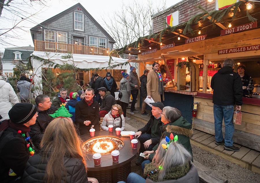 Canteen holiday market lodge
