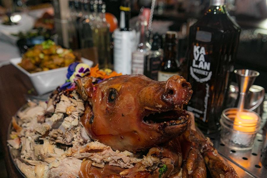 Citizen Public House pig roast