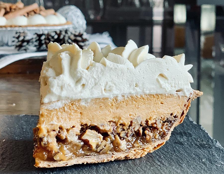 Thanksgiving Piefecta at Flour Bakery