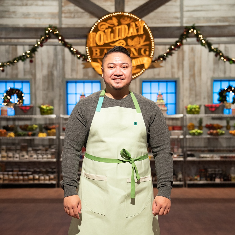 Kobe Doan is competing on season 6 of the Food Network's Holiday Baking Championship
