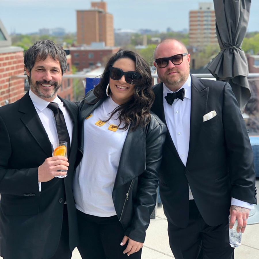 (L to R) Ken Oringer, Katy Chirichiello, and Jamie Bissonnette are now the three owners of Little Donkey in Cambridge