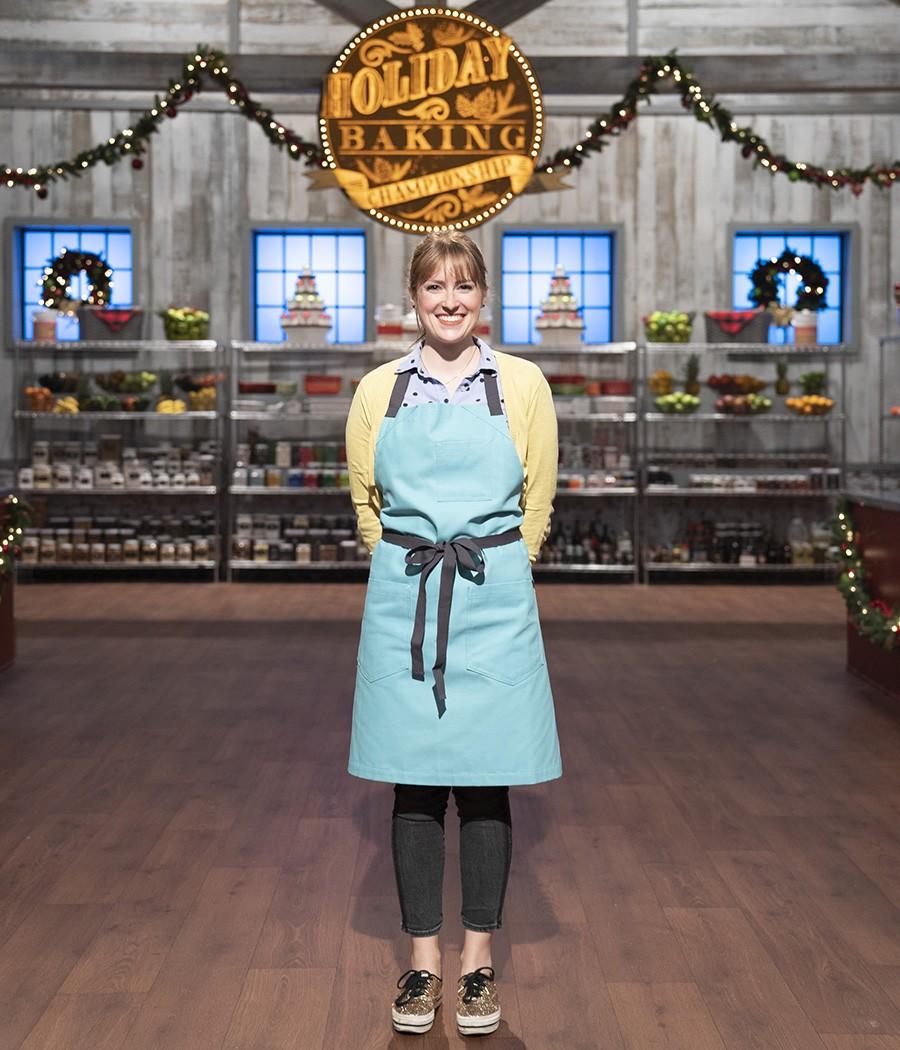 Contestants Sarah Wallace, as seen on Holiday Baking Championship, Season 6