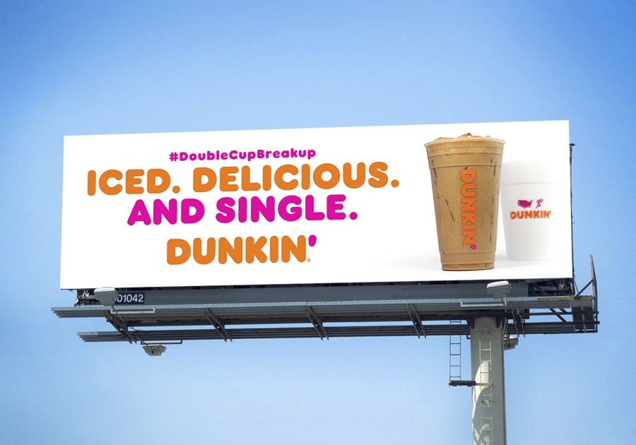 dunkin billboard