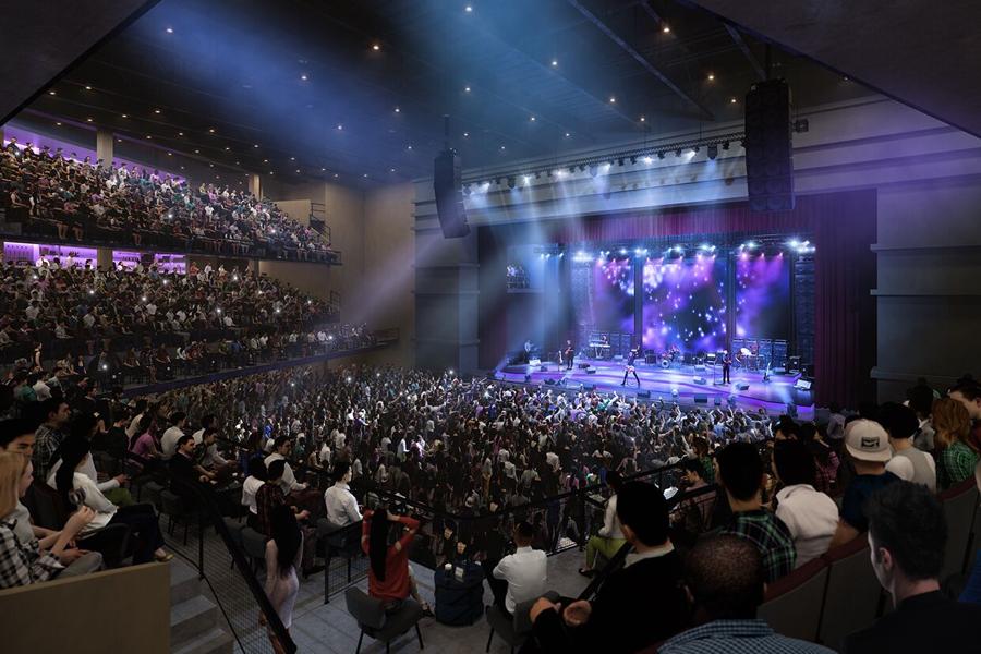 fenway music venue interior