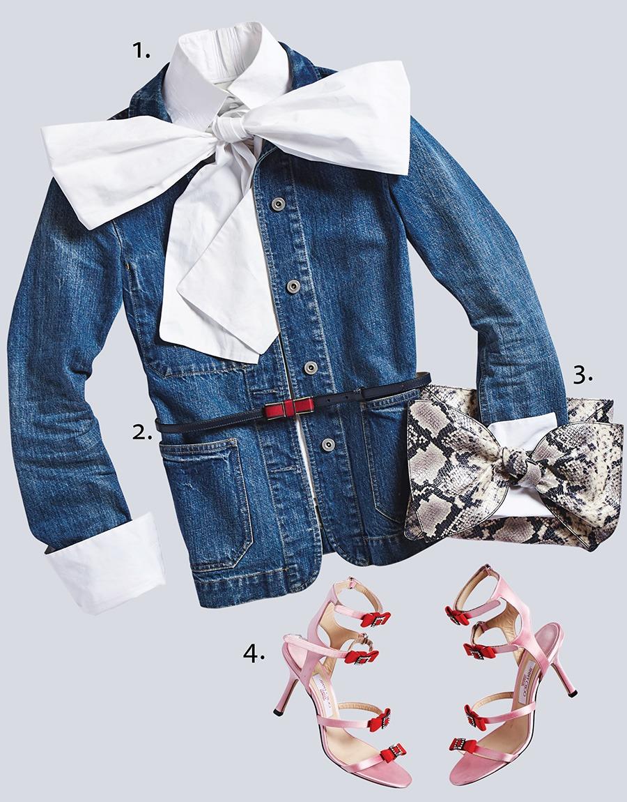 fall bow fashion